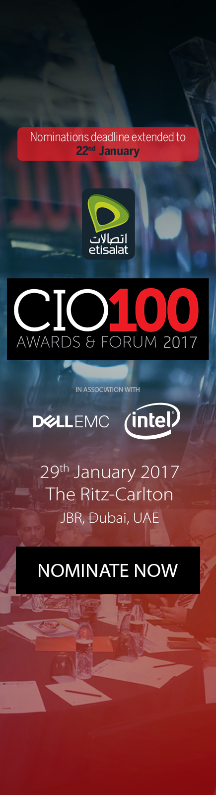 NOMINATE NOW | CIO 100 2017