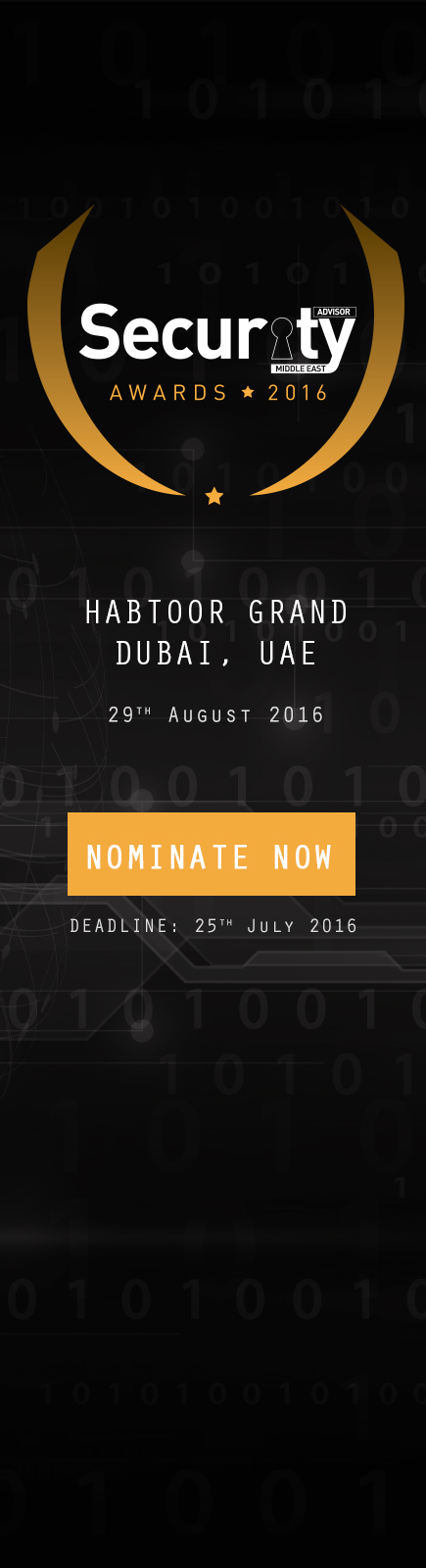 Security Advisor Middle East Awards 2016